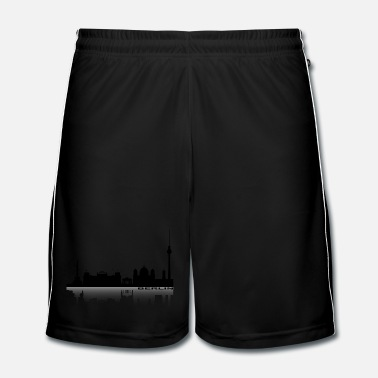 Silhouette Cityscape Berlin 2 - Men's Football shorts