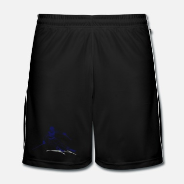 Skies ski - alpine - apres - abfahrt - Men's Football Shorts