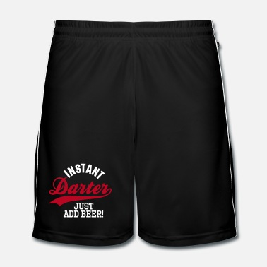 Just Instant darter just add beer - Pantaloncini da calcio uomo