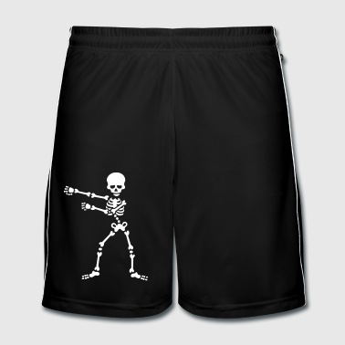 The floss dance flossing backpack boy kid skeleton - Men's Football shorts