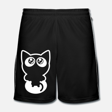 Animal De Compagnie Petit Chat Joueur par Cheerful Madness!! - Short de football Homme