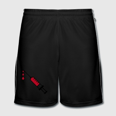 Infirmier sang seringue - Short de football Homme