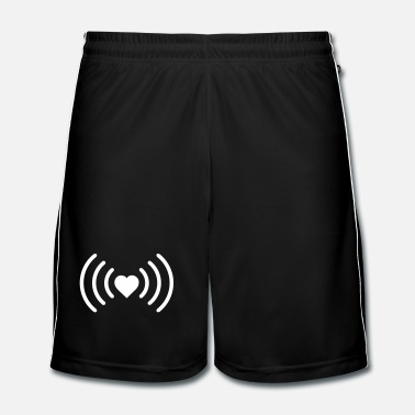 Heart Heart WiFi - Men's Football Shorts