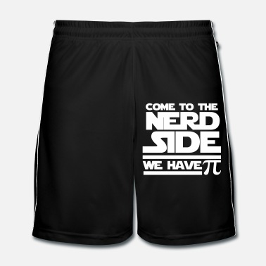 Pi Come to the Nerd Side - Exclusive Edition - Männer Fußball Shorts