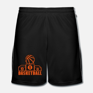 Sports basketball number 1 sport podium place - Men's Football Shorts