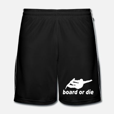 Winter board or die - Mannen voetbal shorts