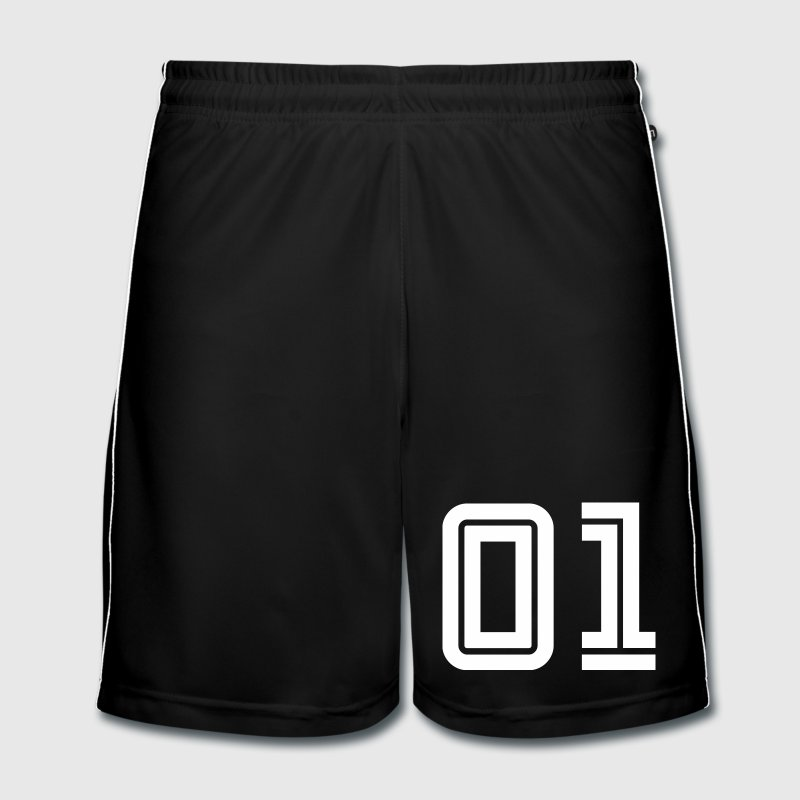 College Numbers, Nummern, Sports Numbers, 01 - Men's Football shorts