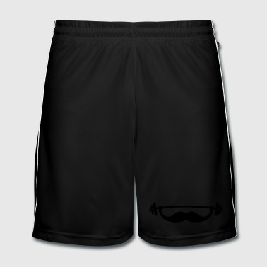 Grappige Grappig Fitness Snor / baard - Mannen voetbal shorts