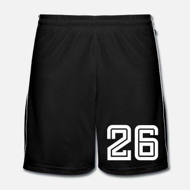 Sports College Numbers, Nummern, Sports Numbers, 26 - Short de football Homme