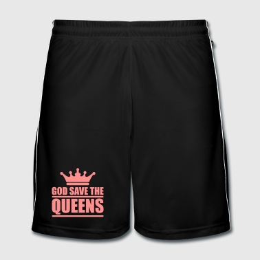 God save the queens (1 color) - Mannen voetbal shorts