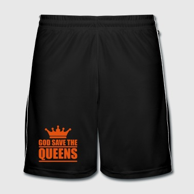 God save the queens (1 color) - Short de football Homme