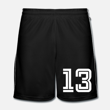 Sports College Numbers, Nummern, Sports Numbers, 13 - Mannen voetbal shorts