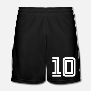 Sports College Numbers, Nummern, Sports Numbers, 10 - Short de football Homme