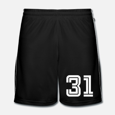 Sports College Numbers, Nummern, Sports Numbers, 31 - Fotbollsshorts herr