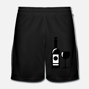 Wine Romantic wine - Men's Football Shorts