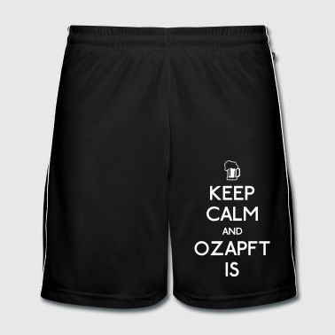 Keep Calm and Ozapft Is - Oktoberfest outfit - Men's Football shorts