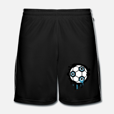 Graffiti Un graffiti de football - Short de football Homme