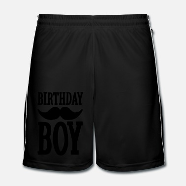 Hipster Birthday Boy Hipster - Men's Football Shorts