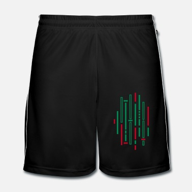 Band Motif à rayures - Short de football Homme