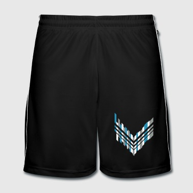 Futuristic Graphic arrow - Men's Football shorts