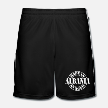 Regio made_in_albania_m1 - Mannen voetbal shorts