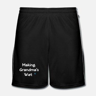 Jongens making grandma's wet - Mannen voetbal shorts