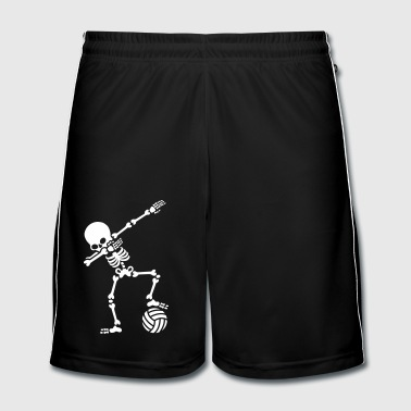 Dab dabbing skeleton (beach) volleyball - Men's Football shorts