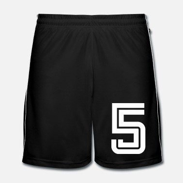 Sports College Numbers, Nummern, Sports Numbers, 5 - Mannen voetbal shorts