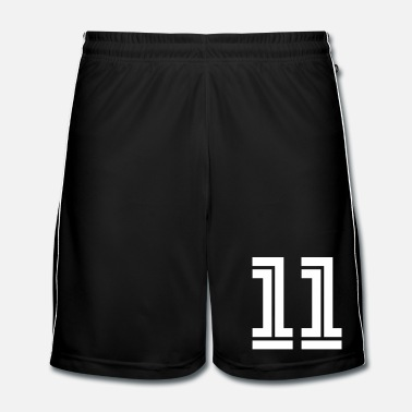 Sports College Numbers, Nummern, Sports Numbers, 11 - Fotbollsshorts herr