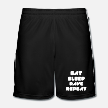 Festival  EAT SLEEP RAVE REPEAT - Men's Football Shorts