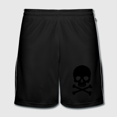 Skull And Bones Pirate Skull - Trendy & Cool Skull - Men's Football shorts