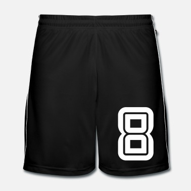 Sports College Numbers, Nummern, Sports Numbers, 8 - Mannen voetbal shorts