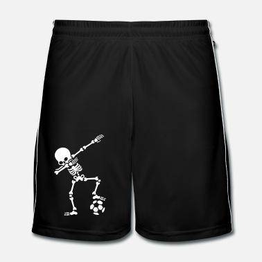 Match Dab dabbing skeleton football (soccer) - Men's Football Shorts