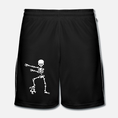 Boll Football soccer the floss dance flossing skelett - Fotbollsshorts herr