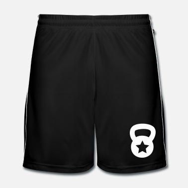 Weight Lifting kettlebell without star - Men's Football shorts