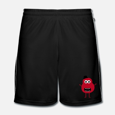 Chic Funny Vintage Monster - Mannen voetbal shorts
