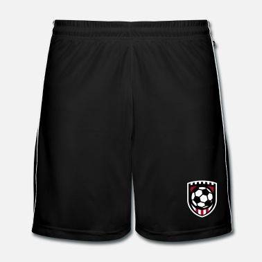 Logo Minimal football logo / coat of arms / flag / badge - Mannen voetbal shorts