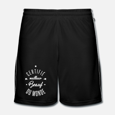 Monde meilleur beauf du monde - Short de football Homme