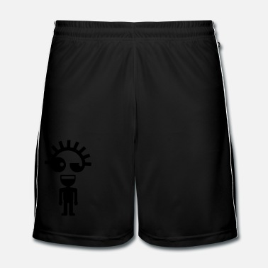 Persoon Weirdo - Mannen voetbal shorts
