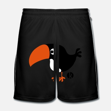 Snavel Toucan - Mannen voetbal shorts