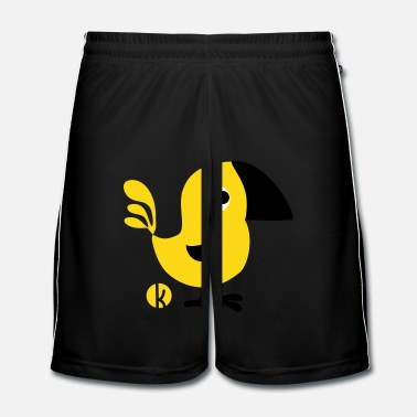 Uil Canary - Mannen voetbal shorts