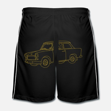 Berlin Voiture Trabant - Short de football Homme