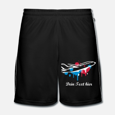 Graffiti Un avion Graffiti - Short de football Homme