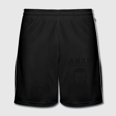 ALL HIPSTERS ARE BASTARDS - Funny Parody  - Men's Football shorts