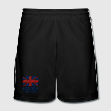 Union Jack - London - Vintage Look  - Men's Football shorts