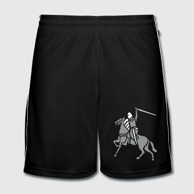 Knight On Horse by patjila - Männer Fußball-Shorts