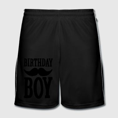 Birthday Boy Hipster - Fotballshorts for menn