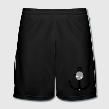 Anchor skull - Men's Football shorts