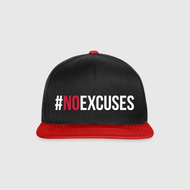 No Excuses  - Gorra Snapback