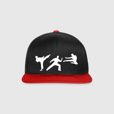 Martial Arts - 3 Fighters - Casquette snapback